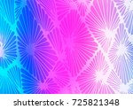 light pink  blue vector indian... | Shutterstock .eps vector #725821348