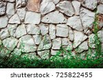 seamless stone surface and... | Shutterstock . vector #725822455