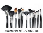 make up brushes | Shutterstock . vector #72582340