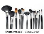 make up brushes | Shutterstock . vector #72582340