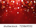 colorful christmas de focused... | Shutterstock . vector #725869552