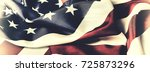 american flag. the national... | Shutterstock . vector #725873296