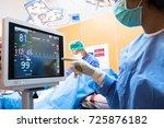 robotic advisor service... | Shutterstock . vector #725876182
