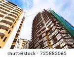 travel to crimea   construction ...   Shutterstock . vector #725882065