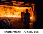 steel worker | Shutterstock . vector #725882158