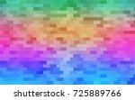 light multicolor  rainbow... | Shutterstock .eps vector #725889766