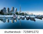 toronto city  canada | Shutterstock . vector #725891272