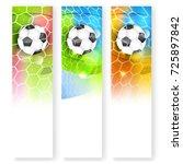 skyscraper sport soccer vector... | Shutterstock .eps vector #725897842