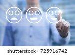 customer satisfaction concept ... | Shutterstock . vector #725916742