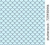 Mermaid Tail Seamless Pattern....
