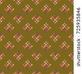 new color seamless pattern with ... | Shutterstock . vector #725935846