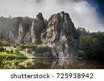 externsteine | Shutterstock . vector #725938942