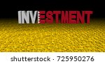investment text with bahrain... | Shutterstock . vector #725950276