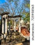 paris  france   april 18  2015  ...   Shutterstock . vector #725958565