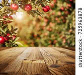Table Space And Apple Garden Of ...