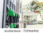 gasoline and diesel distributor ... | Shutterstock . vector #725966902