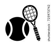 tennis icon | Shutterstock .eps vector #725973742