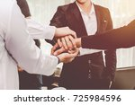 group asia businessman together ...