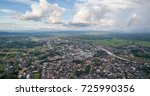 Nan City  Thailand. Panoramic...
