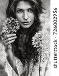 spring  summer  beauty ... | Shutterstock . vector #726002956