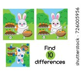 find the differences...   Shutterstock .eps vector #726005956