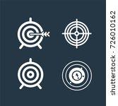 successful shoot. target set... | Shutterstock .eps vector #726010162