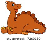 dinosaur | Shutterstock .eps vector #7260190