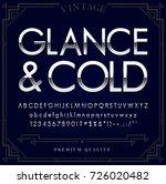 silver or chrome metallic font... | Shutterstock .eps vector #726020482