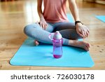 fitness  sports accessories and ... | Shutterstock . vector #726030178
