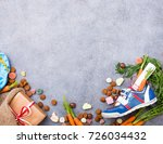 dutch holiday sinterklaas... | Shutterstock . vector #726034432