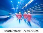 technological background... | Shutterstock . vector #726070225