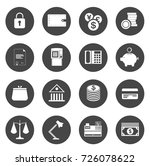 investment icons | Shutterstock .eps vector #726078622