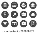 business icons | Shutterstock .eps vector #726078772