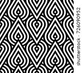 vector geometric pattern.... | Shutterstock .eps vector #726090952