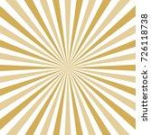abstract sun burst background.... | Shutterstock .eps vector #726118738