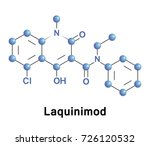 laquinimod is an experimental... | Shutterstock .eps vector #726120532