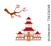 asian japan china oriental... | Shutterstock .eps vector #726126268