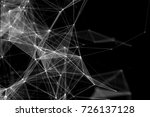 abstract technology and future... | Shutterstock . vector #726137128