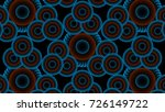 abstract background with blue... | Shutterstock . vector #726149722