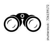 binoculars. vector. | Shutterstock .eps vector #726159172