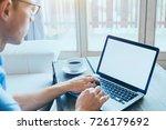 business man entrepreneur... | Shutterstock . vector #726179692
