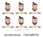 set of emotions for business... | Shutterstock .eps vector #726188476