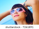 portrait of a young gorgeous...   Shutterstock . vector #7261891