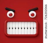 3d render  abstract emotional... | Shutterstock . vector #726202066