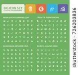 big icon set vector | Shutterstock .eps vector #726203836