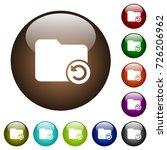 undo directory last operation... | Shutterstock .eps vector #726206962