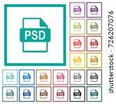 psd file format flat color... | Shutterstock .eps vector #726207076