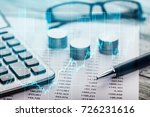 finance concept. | Shutterstock . vector #726231616