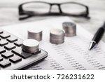finance concept. | Shutterstock . vector #726231622