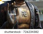 hand buddha statue   Shutterstock . vector #726234382